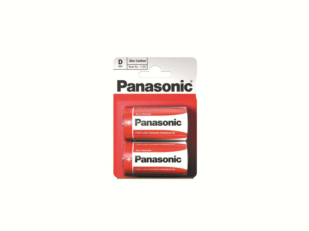 Panasonic Zinc Carbon D Batteries