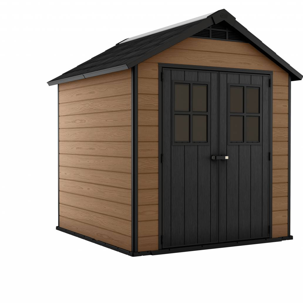 Keter Newton 757 Shed - Brown
