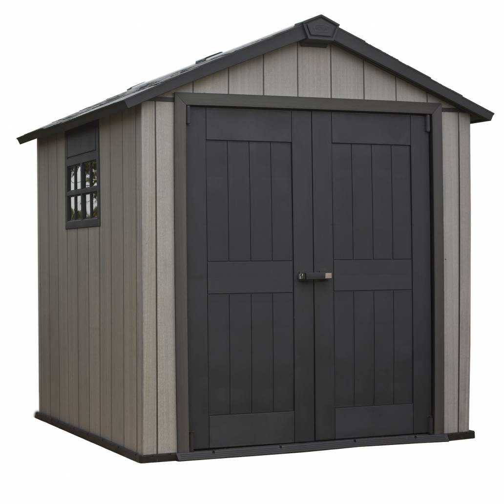 Keter Oakland Shed 757 - Brownish Grey
