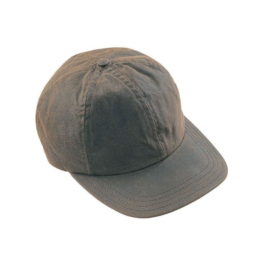 Barbour Mens Wax Sports Cap - Olive