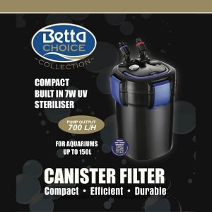 Betta 700 UV Canister Filter