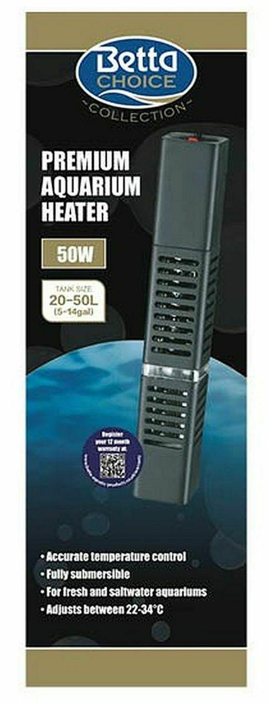 Betta Premium Aquarium Heater 50w