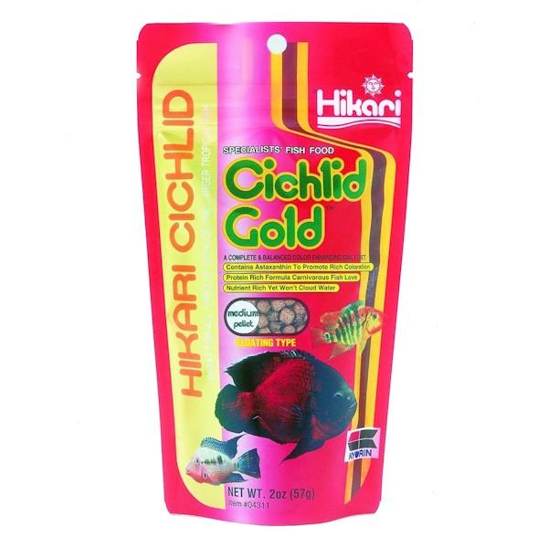 Hikari Cichlid Gold Med 250G