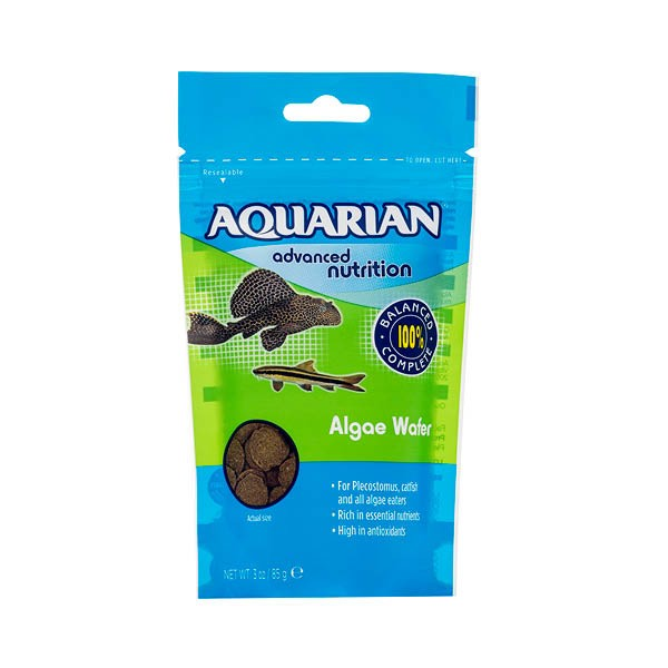 Aquarian Algae Wafer 85 Gm