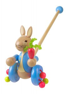 Boxed Push Along - Peter Rabbit