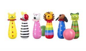 Orange Tree Toys Animal Wooden Skittles