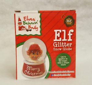 65mm Elf Glitter Snow Globe