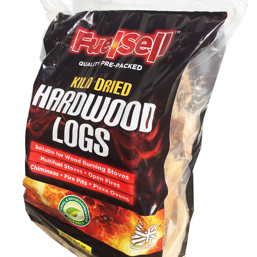 FuelSell Bag of Kiln Dried Hardwood Logs