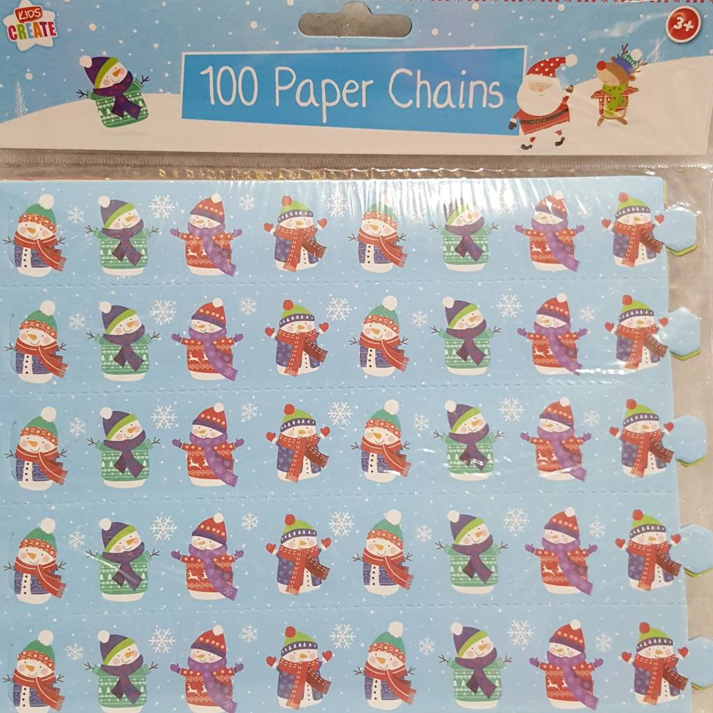 100 Paper Chains