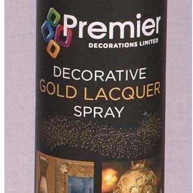 Preimier Gold Lacquer Spray 150ml