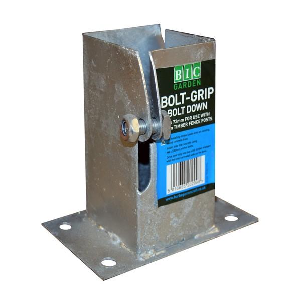 BIC Garden Bolt-Grip Bolt Down - 72mm x 72mm (Flush Fit)