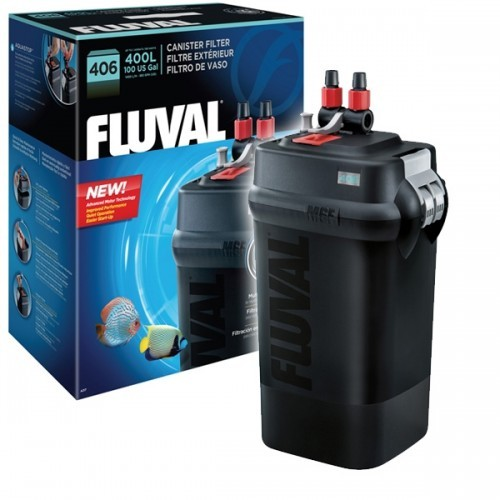 Fluval 406 External Power Aquarium Filter