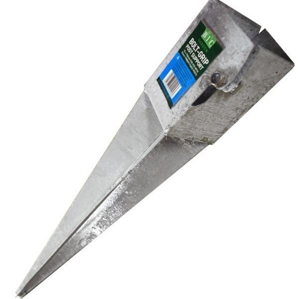BIC Garden Bolt-Grip Post Support Spike 100mm x 750mm