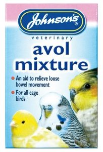 Johnsons Cage Bird Avol Mixture For Diarrhoea 15ml