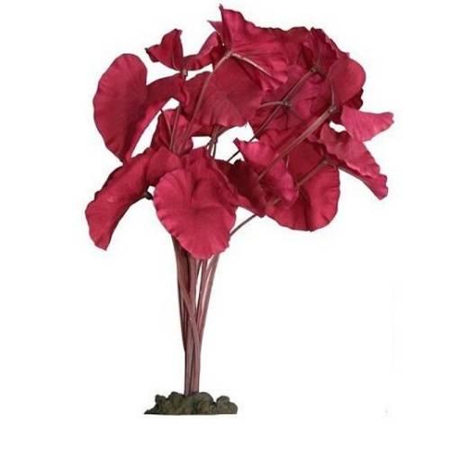 Aqua One Silk Plant Tiger Lotus Red 40cm (24267)