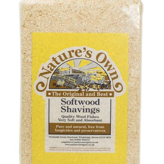 Nature's Own Medium Wood Shavings 3.2 kg approx