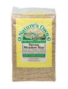 Nature's Own Devon Meadow Hay 2kg approx