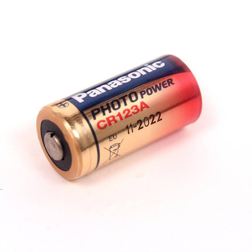 Nash Bite Alarm R3 Receiver / S5R Receiver Batteries (Cr123A)