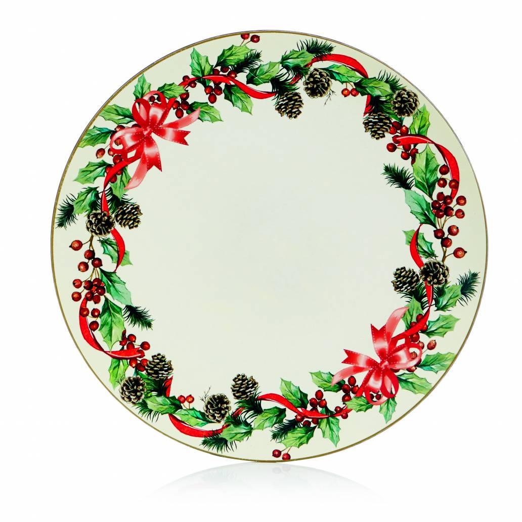 Premier Christmas Charger Plate