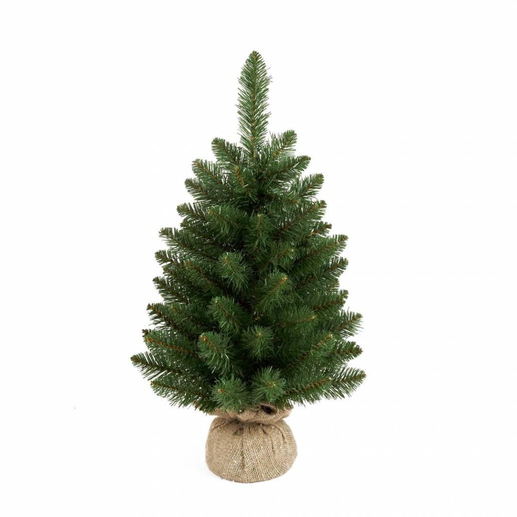Premier 60cm Green Burlap Table Tree
