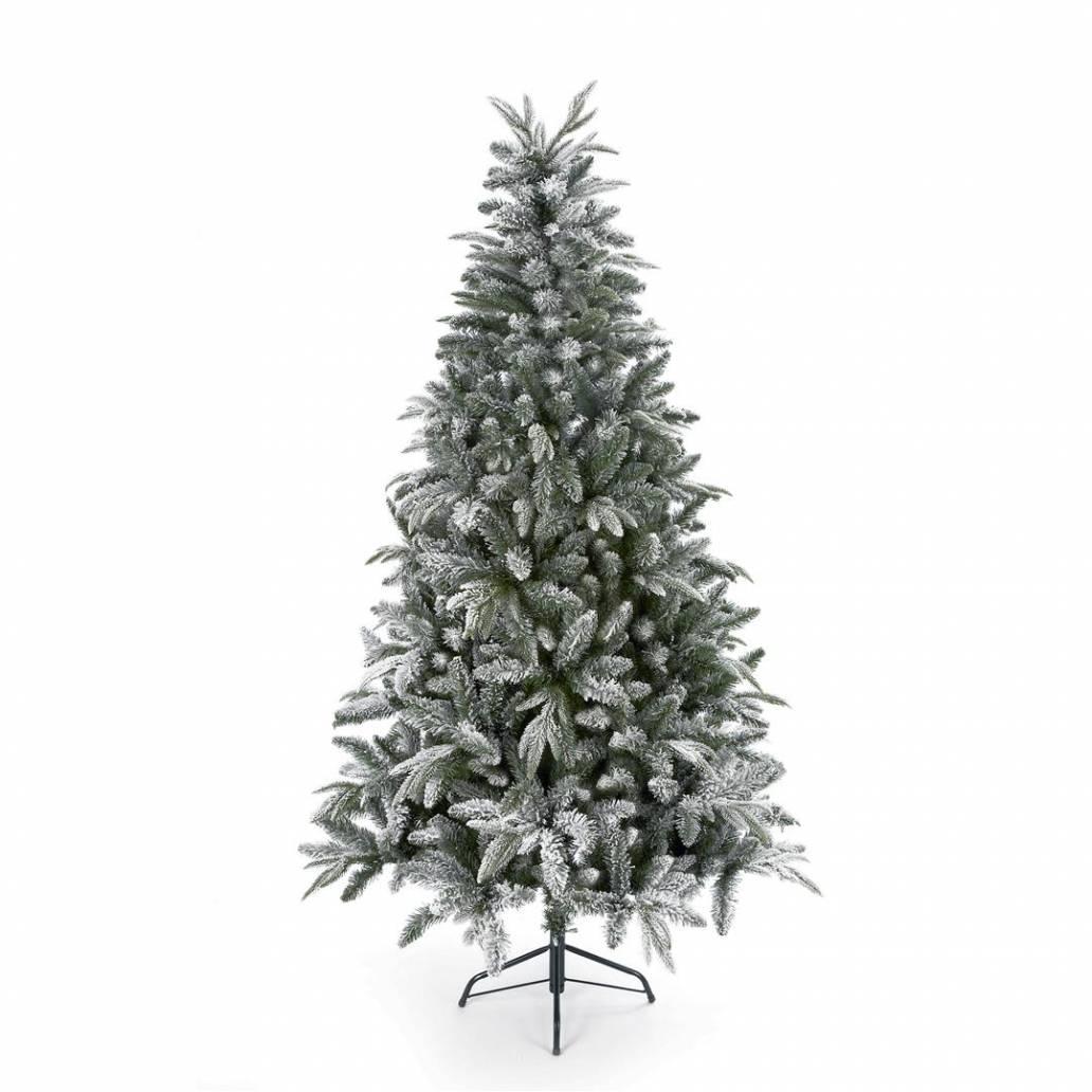 Premier 1.8m PE Flocked Lapland Spruce PE/PVC- Hinged Tree