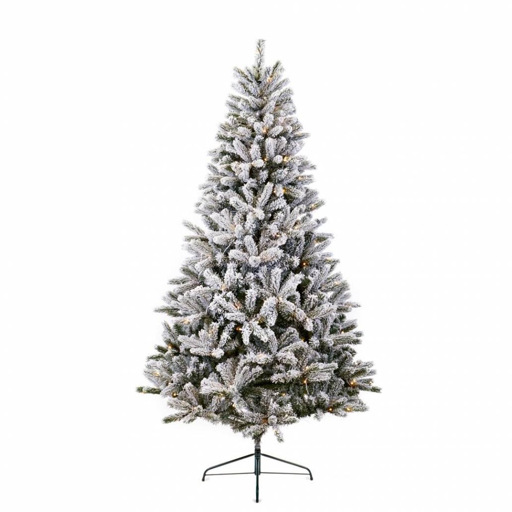 Premier 1.5m Prelit Evergreen Snow PE PVC Tree