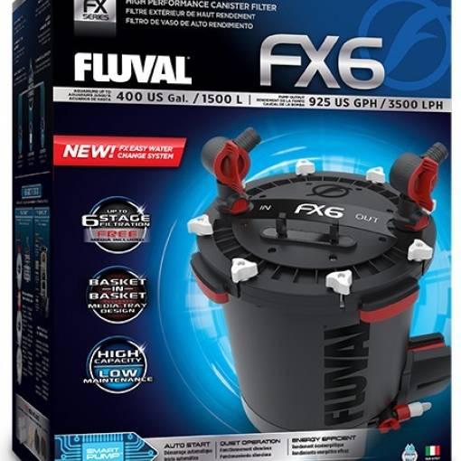 Fluval FX6 External Power Aquarium Filter