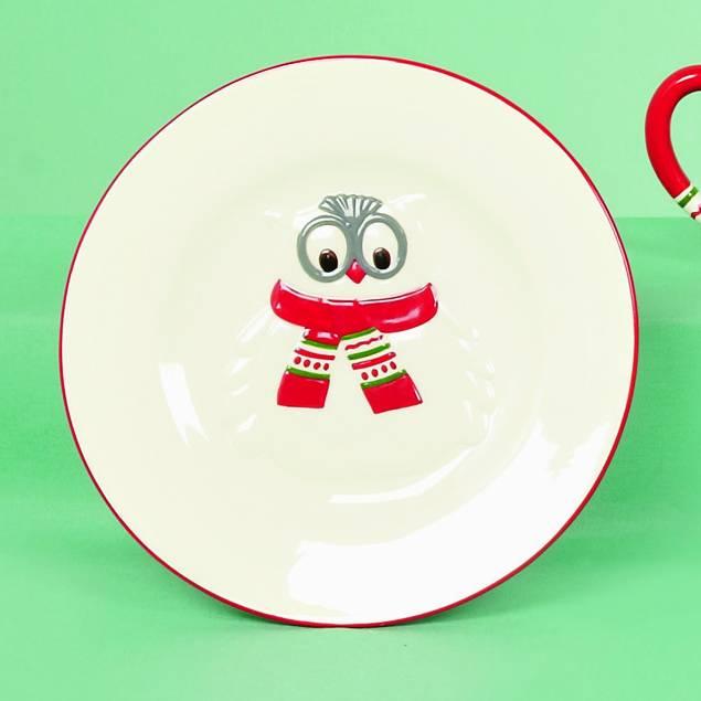 Premier 20cm Ollie Owl Plate