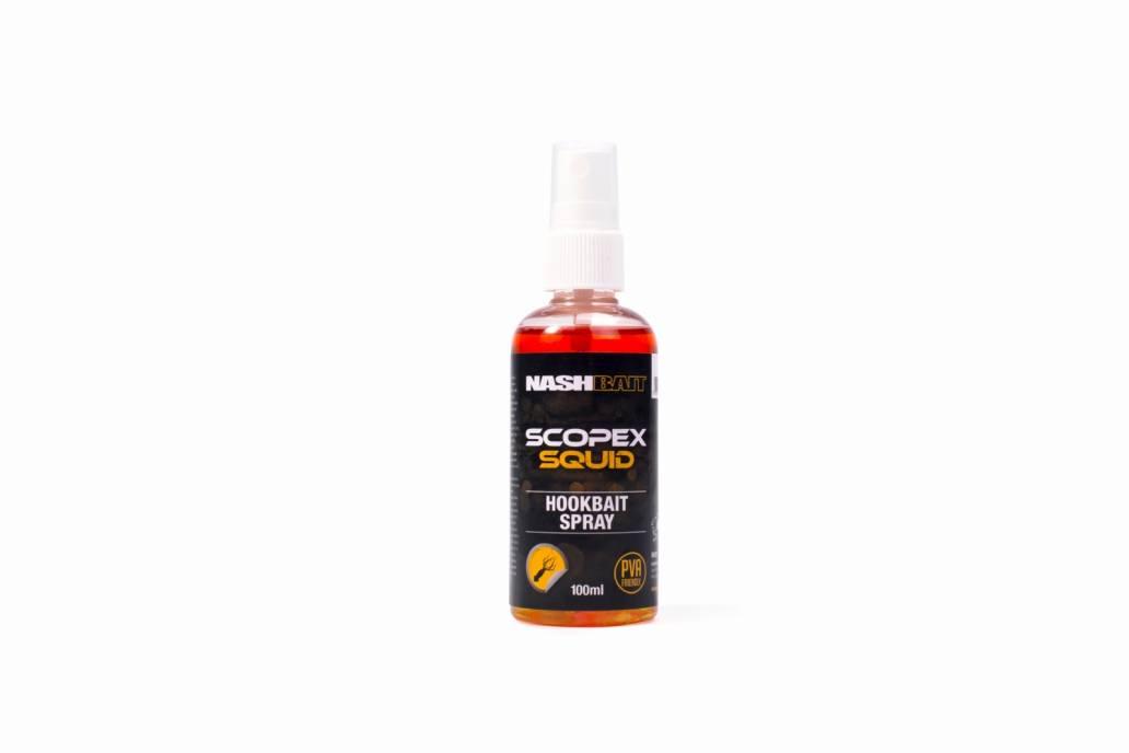 Nash Scopex Squid Hookbait Spray - 100ml