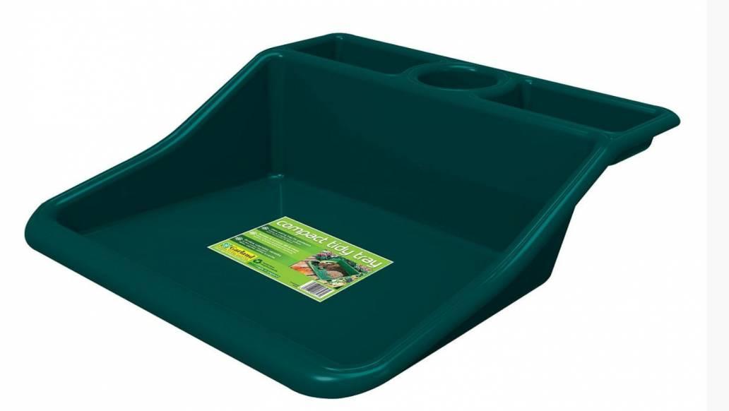 Garland Compact Tidy Tray Green (49x50x15cm)