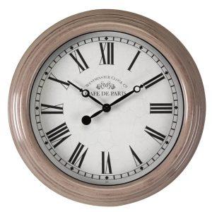 Biarritz Grey & Black Clock - 12in