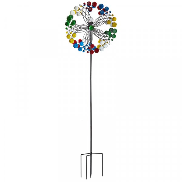 Smart Garden Harlequin Illuminated Wind Spinner