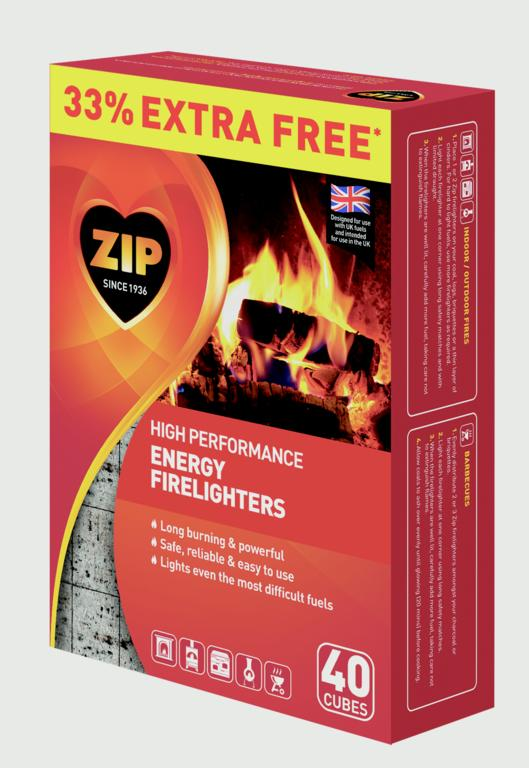 Zip Firelighters 30 Plus 33% Free