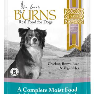 Burns Penlan Farm Pouch Complete Chicken Rice & Veg Dog Food - 6 x 400g