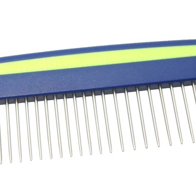 Straight Back Medium/Coarse Pet Comb