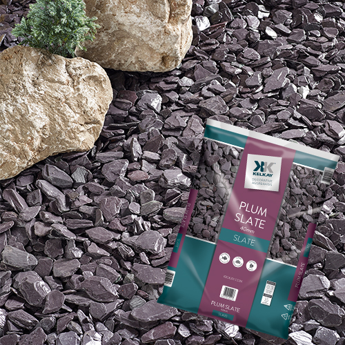 Kelkay Plum Slate 40mm Chippings Large Pack