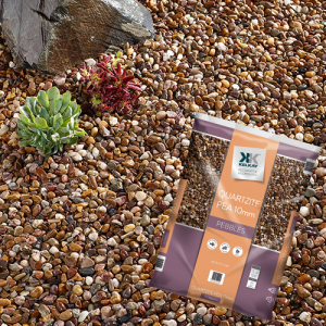 Kelkay 10mm Premium Quartzite Pea Gravel Large Pack