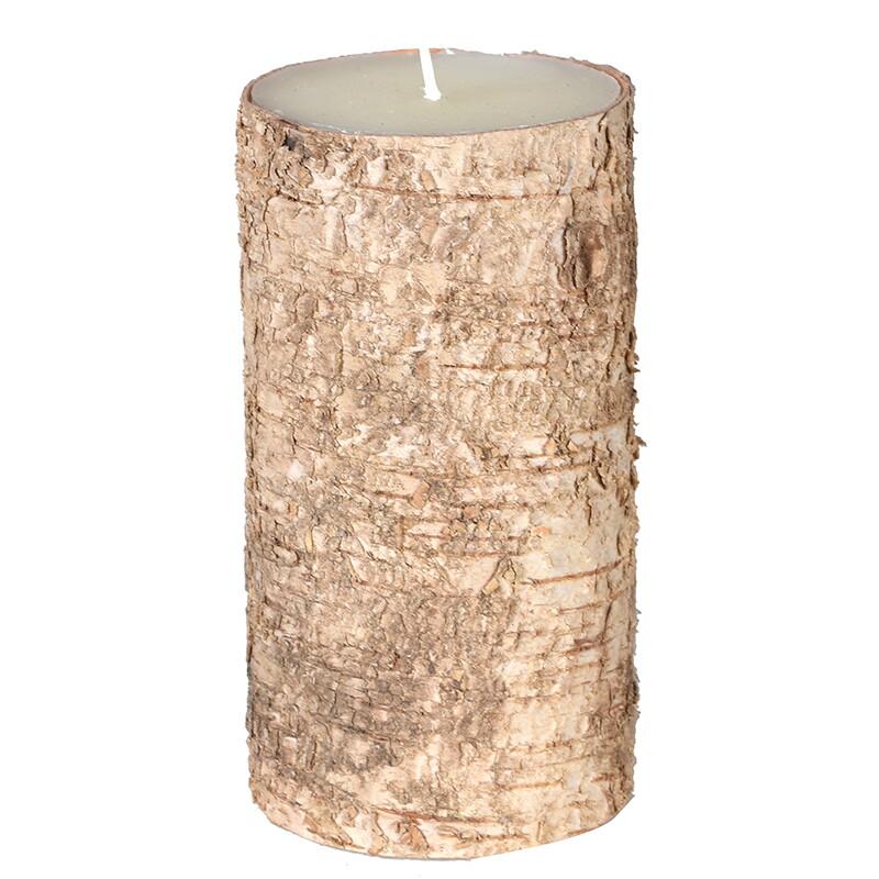 Birch Bark Candle - Medium