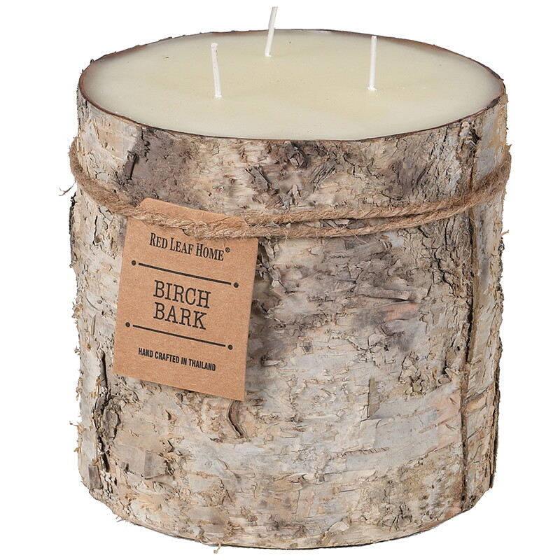 Birch Bark Candle - Large