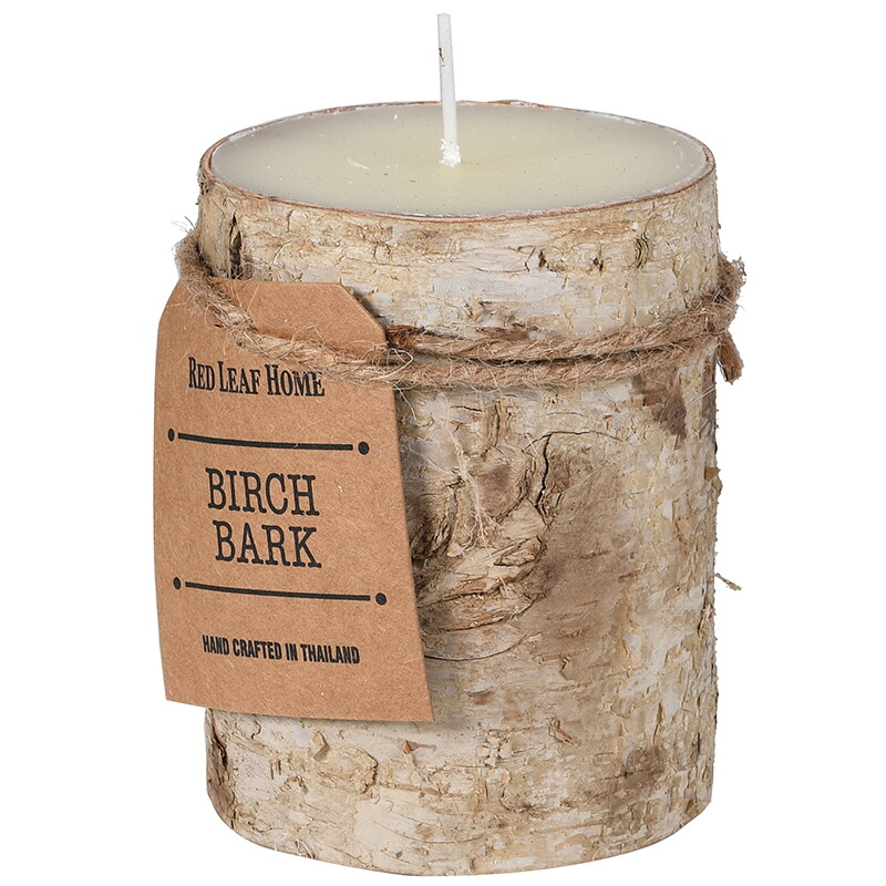 Birch Bark Candle - Small