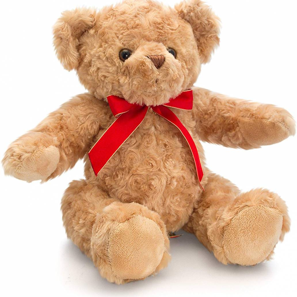 Keel Toys 25cm Traditional Bear W/Ribbon