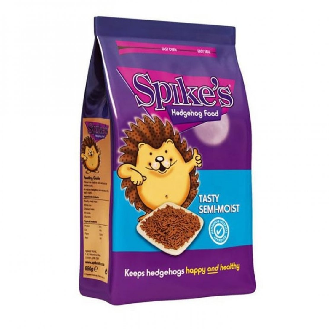 Spike's Tasty Semi-moist Hedgehog Food 550g
