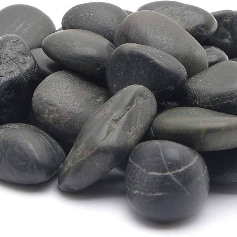 Marina Gravel Natural Black Pebble 2Kg