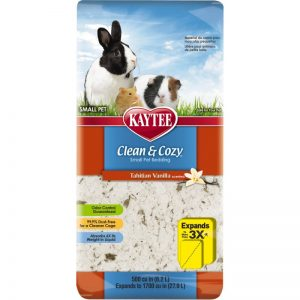 Clean And Cozy Small Animal Natural Pet Bedding - Tahitian Vanilla 24.6L