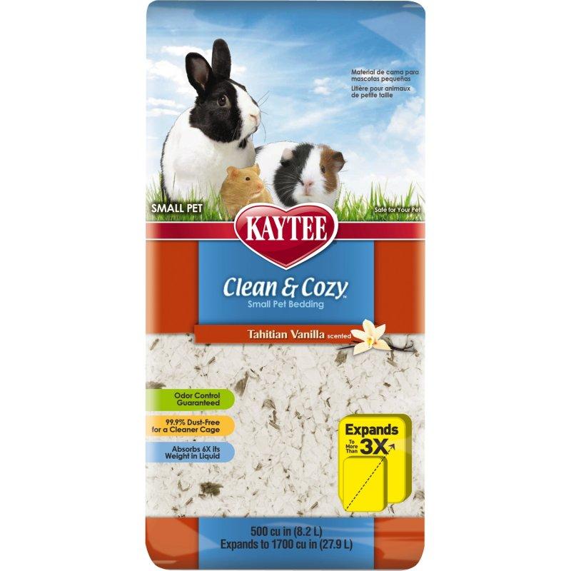 Clean And Cozy Small Animal Natural Pet Bedding - Tahitian Vanilla 24.6L