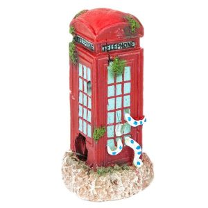 Betta Aquarium Fish Tank Ornament Phone Box Small
