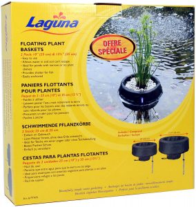 Laguna Floating Planting Basket Kit (1 X 25cm, 1 X 35cm)