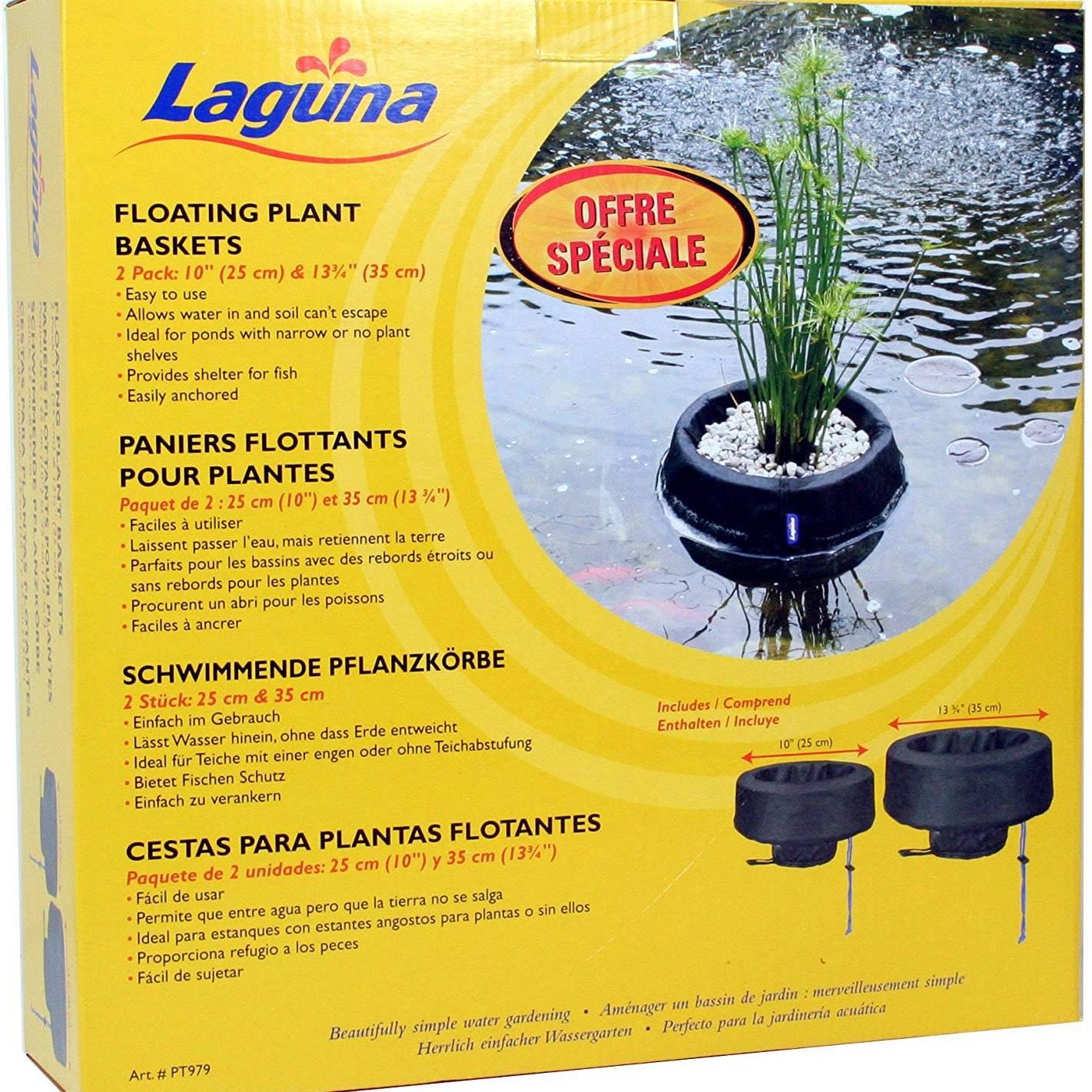 Laguna Floating Planting Basket Kit (1 X 25cm, 1 X 35cm)