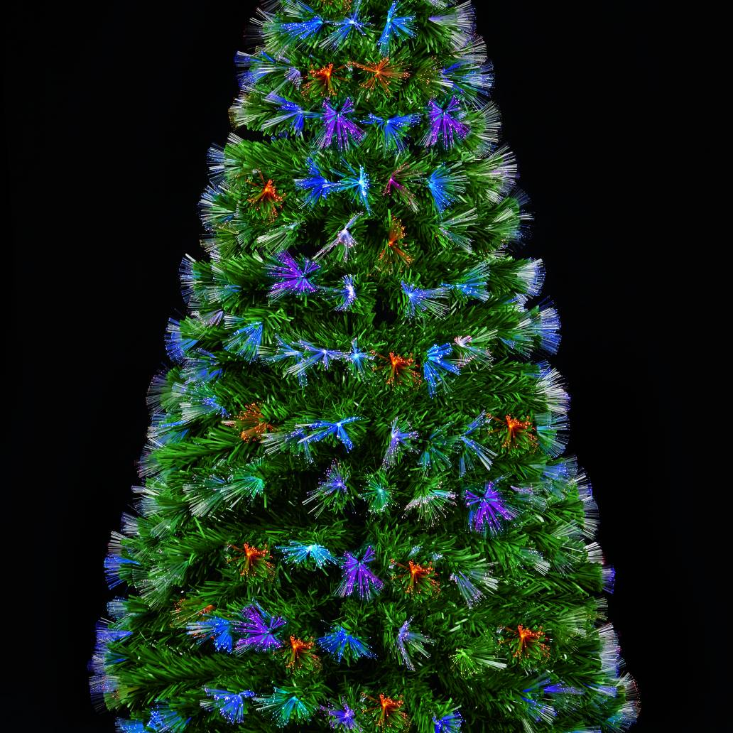 Premier 1.8m Fibre Optic Burst Tree With 220 Tips and Colour Changing LEDs