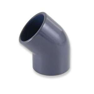 J&K 25mm 45 Degree Elbow (Solvent Weld)